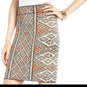Tribal Print Power Skirt